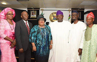 Ambode Swears In LASIEC In Preparation For Lagos LG Election