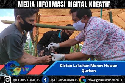Jelang Idul Adha, Distan Lakukan Monev Hewan Qurban di Lombok Barat