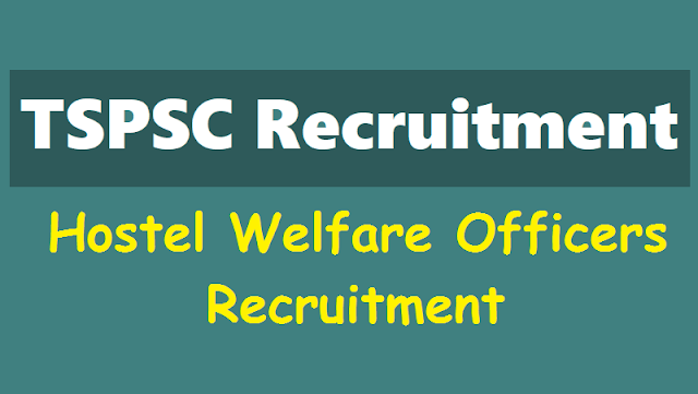 tspsc hostel welfare officers results
