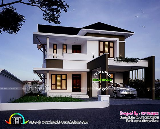 1755 square feet, 3 bedroom modern home