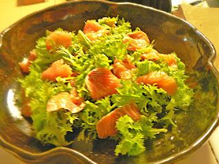 ワサビ菜サラダ