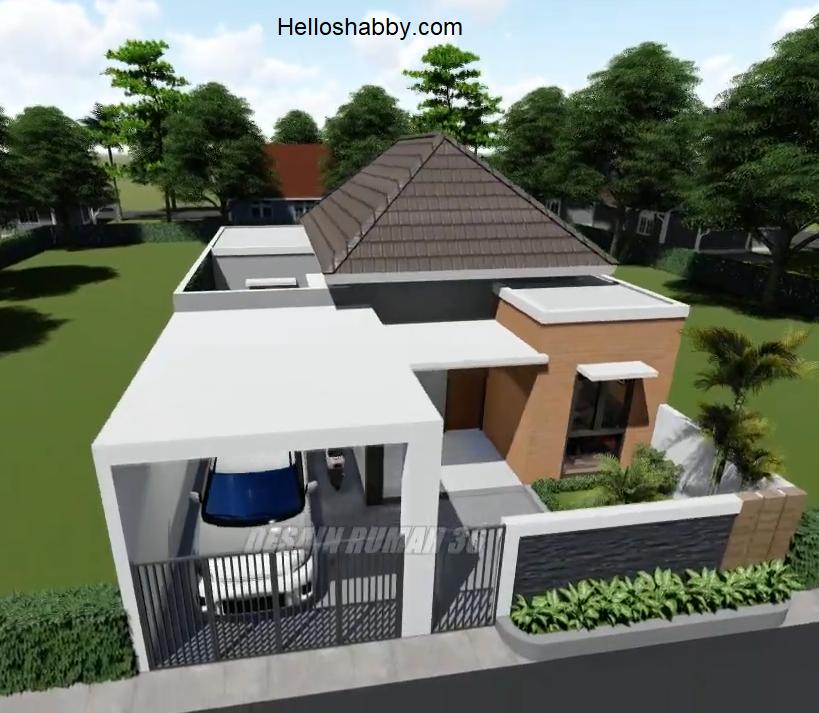 Desain Dan Denah Rumah 9 X 15 Meter Terdapat 3 Kamar Tidur Ada Kolam Renangnya Helloshabby Com Interior And Exterior Solutions
