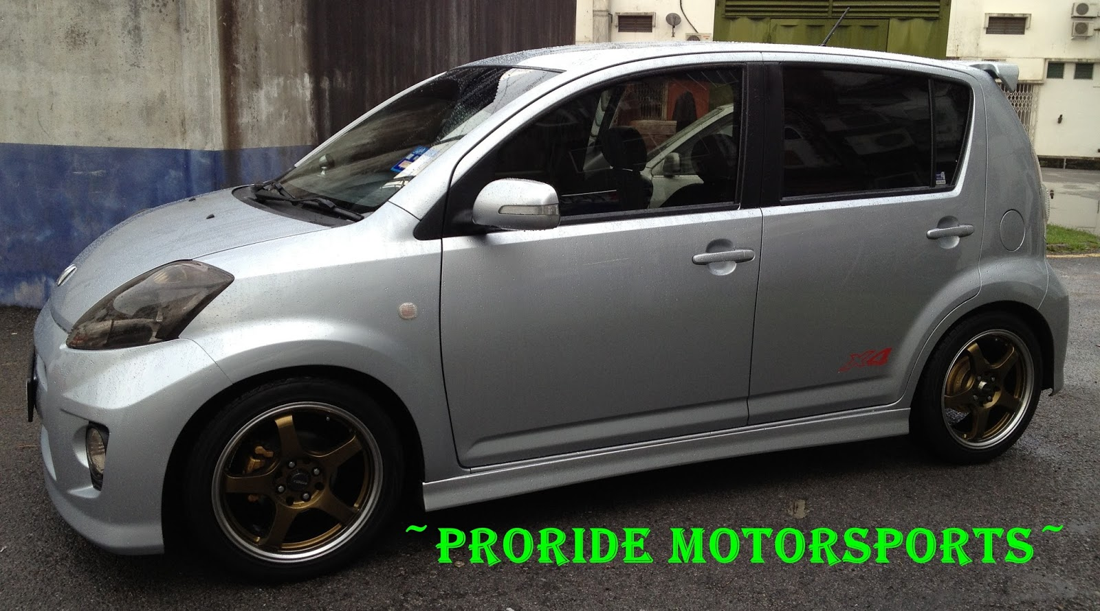 Pro-ride Motorsports: Perodua Myvi installed with KYB RS