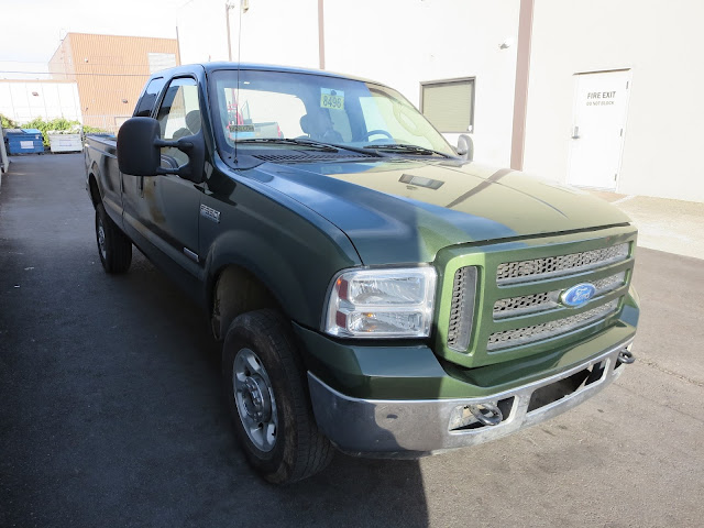 Ford F-350 after body repairs and paint at Almost Everything Auto Body.