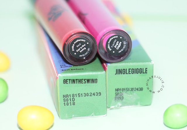 Review Polka Matteness Lip Lacquer Set