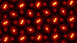 Imagem de Átomos obtida por Pticografia