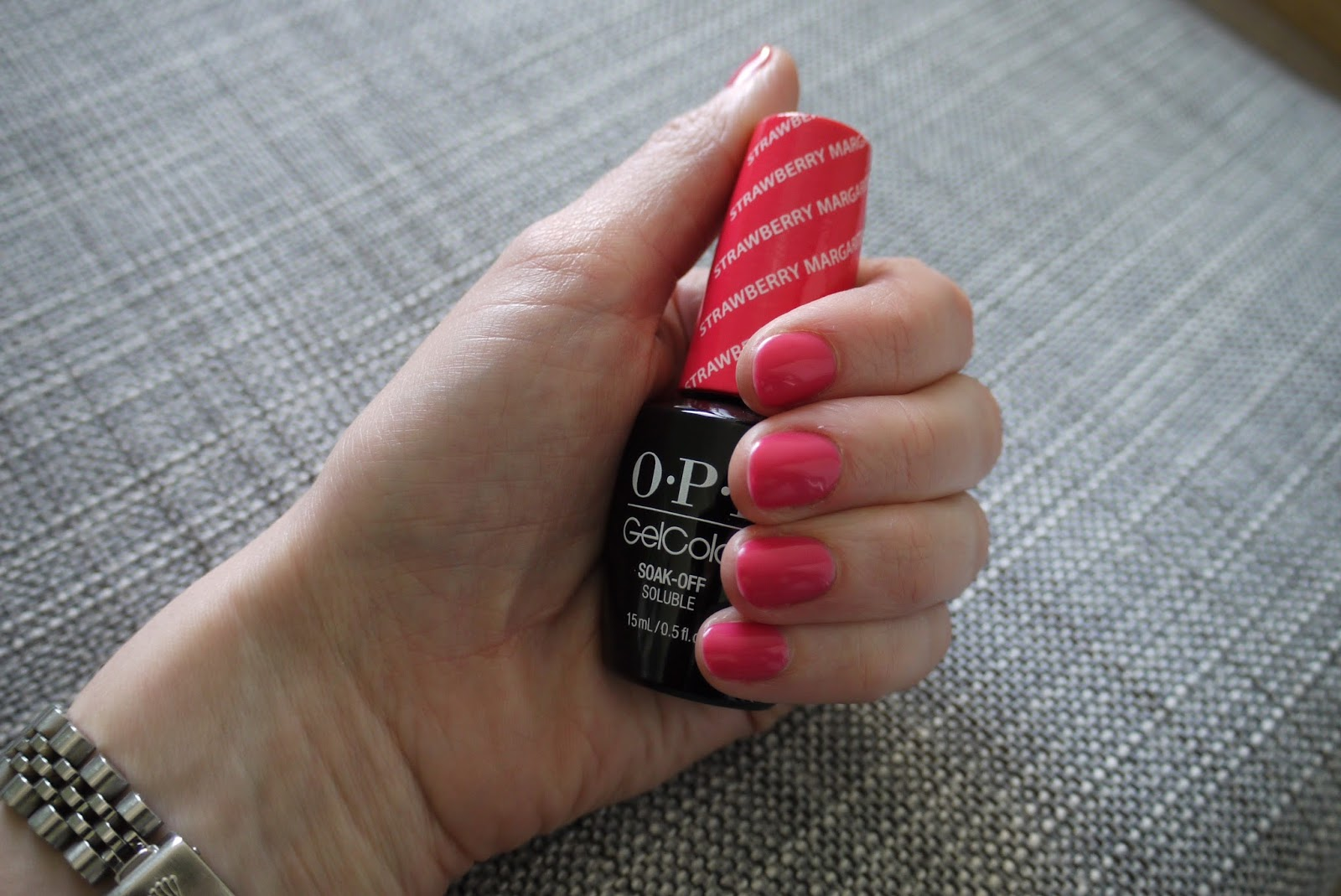 Lacquer Lover Opi Gel Strawberry Margarita Caroline S Babble