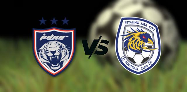 Live Streaming JDT FC vs PJ City FC 30.9.2021 Piala Malaysia