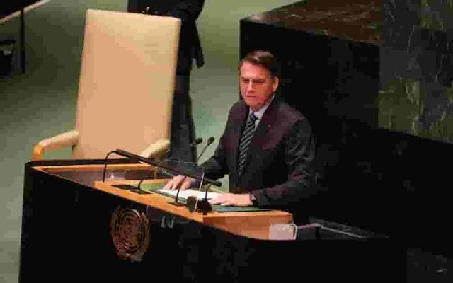 Bolsonaro en la ONU llama a exterminar a miembros del Foro de Sao Paulo y arremete contra Venezuela