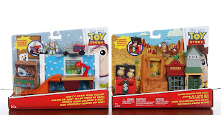mattel toy story minis playsets