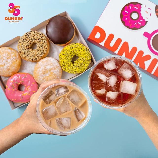 #DunkinDonnut - #Promo Paket Dirumah Aja & Gratis Ongkir Ramadhan 2020