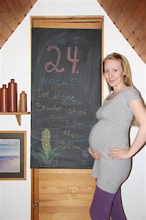 Bauchbild 24. Schwangerschaftswoche