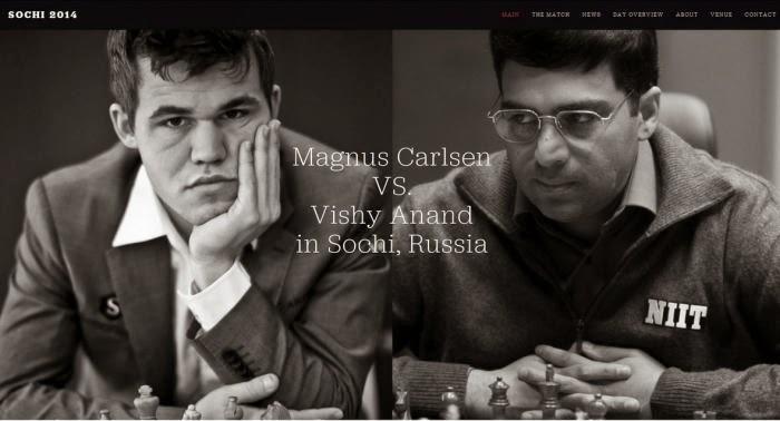 Anand Vs Magnus Carlsen Kejuaraan Dunia 2014