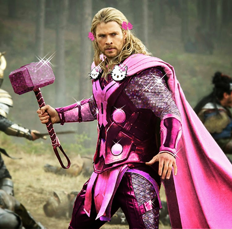 geek with curves the avengers get pink and sparkly hello
