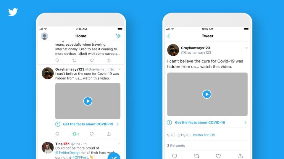 Nuove misure di Twitter contro la disinformazione