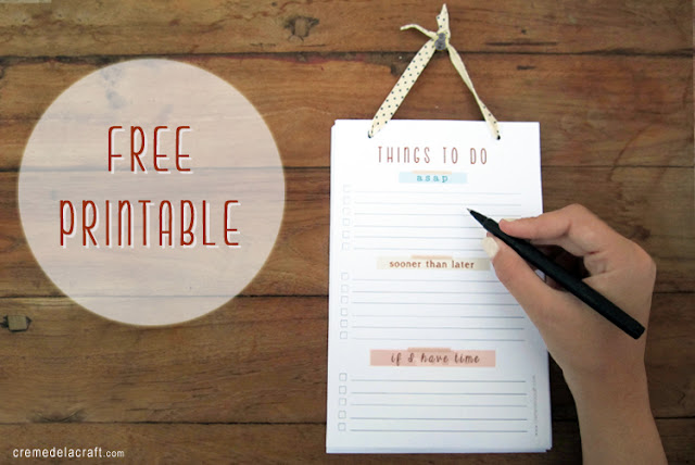 diy to do list template - diy to do list notepad with free printable