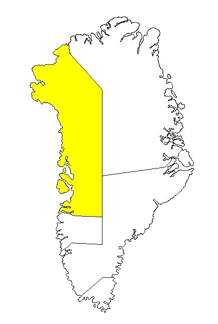 Mapas da Groenlândia
