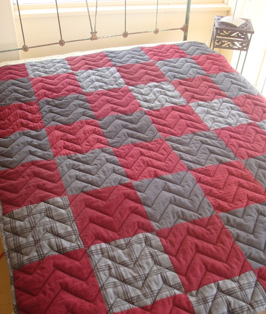 The Quilt Barn Father S Day Snuggle Up Quilt Tutorial