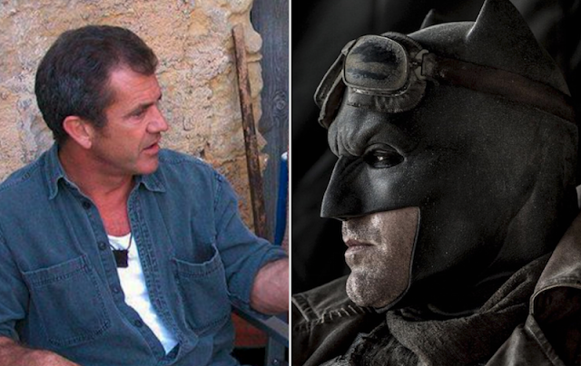 Mel Gibson Batman vs Superman