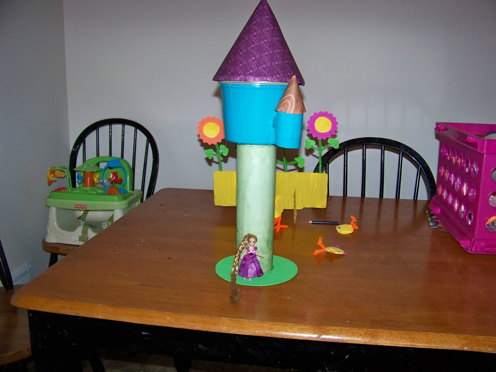 Crafty Confessions Diy Rapunzel S Tower