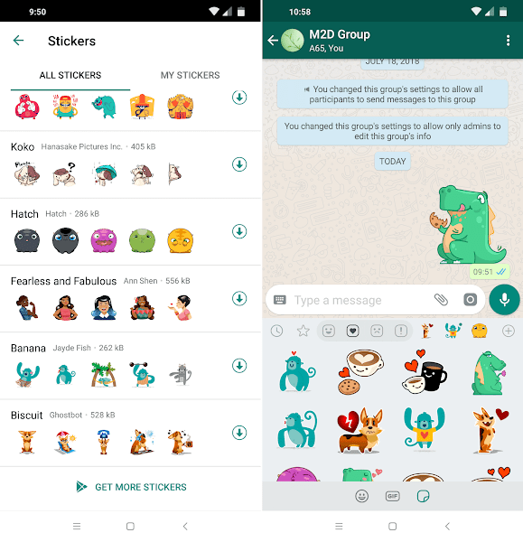 Cara download sticker WhatsApp Android