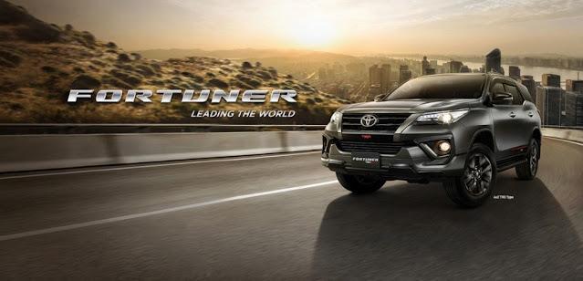 Promo Harga Toyota Fortuner 2021