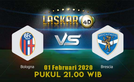 Prediksi Pertandingan Bologna Vs Brescia 01 Februari 2020