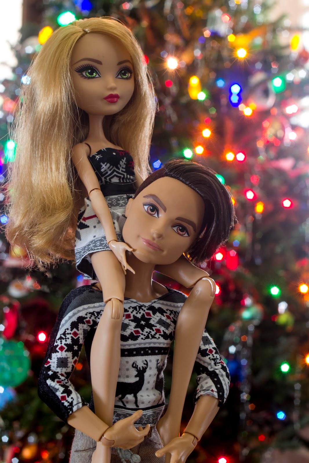 Ashlynn and hunter dating doll