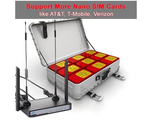 TRENBIEN Unlocked 4G LTE Router with SIM Card Slot