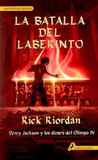 Percy Jackson Y Los Dioses Del Olimpo IV: La Batalla Del Laberinto, de Rick Riordan