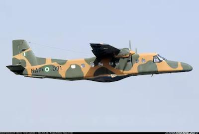 Nigerian Airforce fighter jet