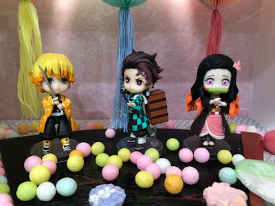 Todas las figuras mostradas en el Jump Festa 2020 - Dragon Ball, One Piece, Kimetsu no Yaiba...