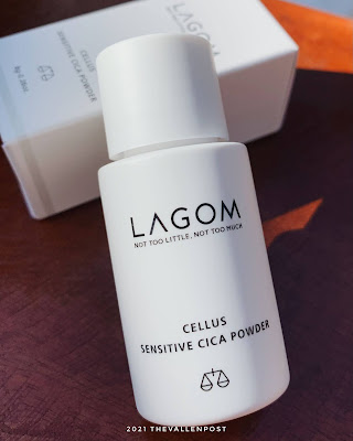 Lagom Cellus Sensitive Cica Powder review