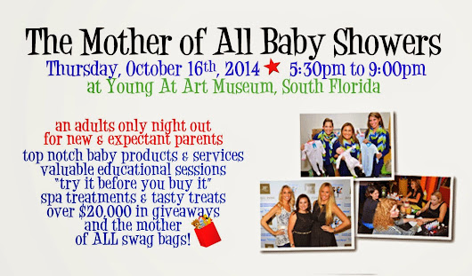 Mother of All Baby Shower Ticket Giveaway Winner Announcement!!!