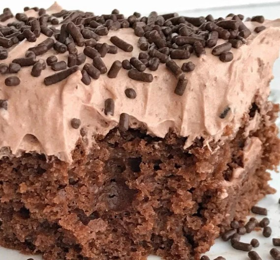 Healthier Chocolate Cake #healthy #lowcalorie