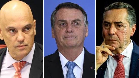 bolsonaro diz pedir impeachment ministros stf