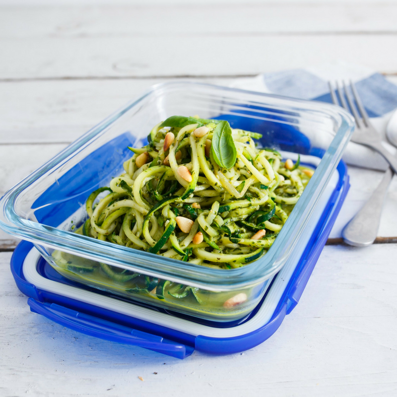 Courgetti With Basil Lime Pesto Recipe To Try Out