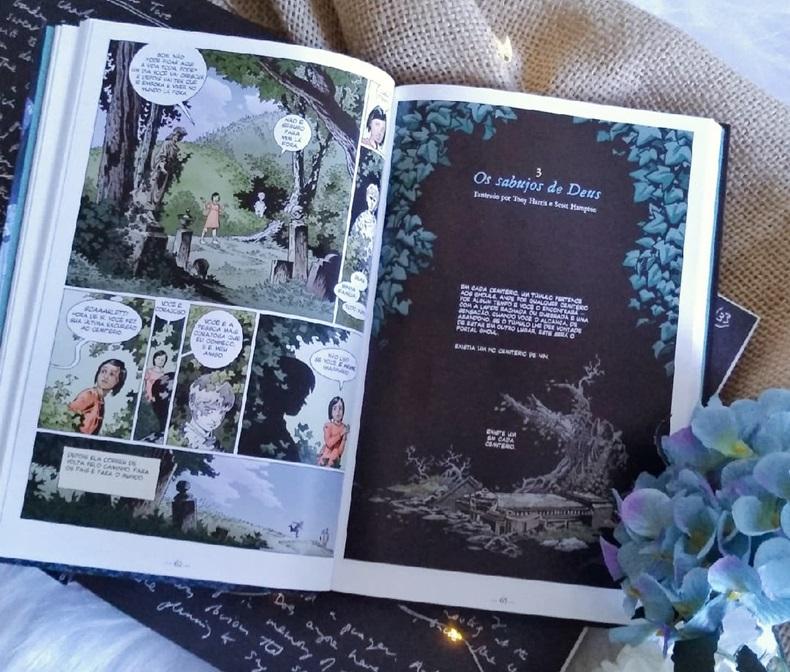 O Livro do Cemitério HQ Vol.1
