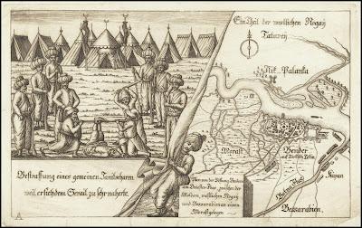 Bendery 1713 mappa