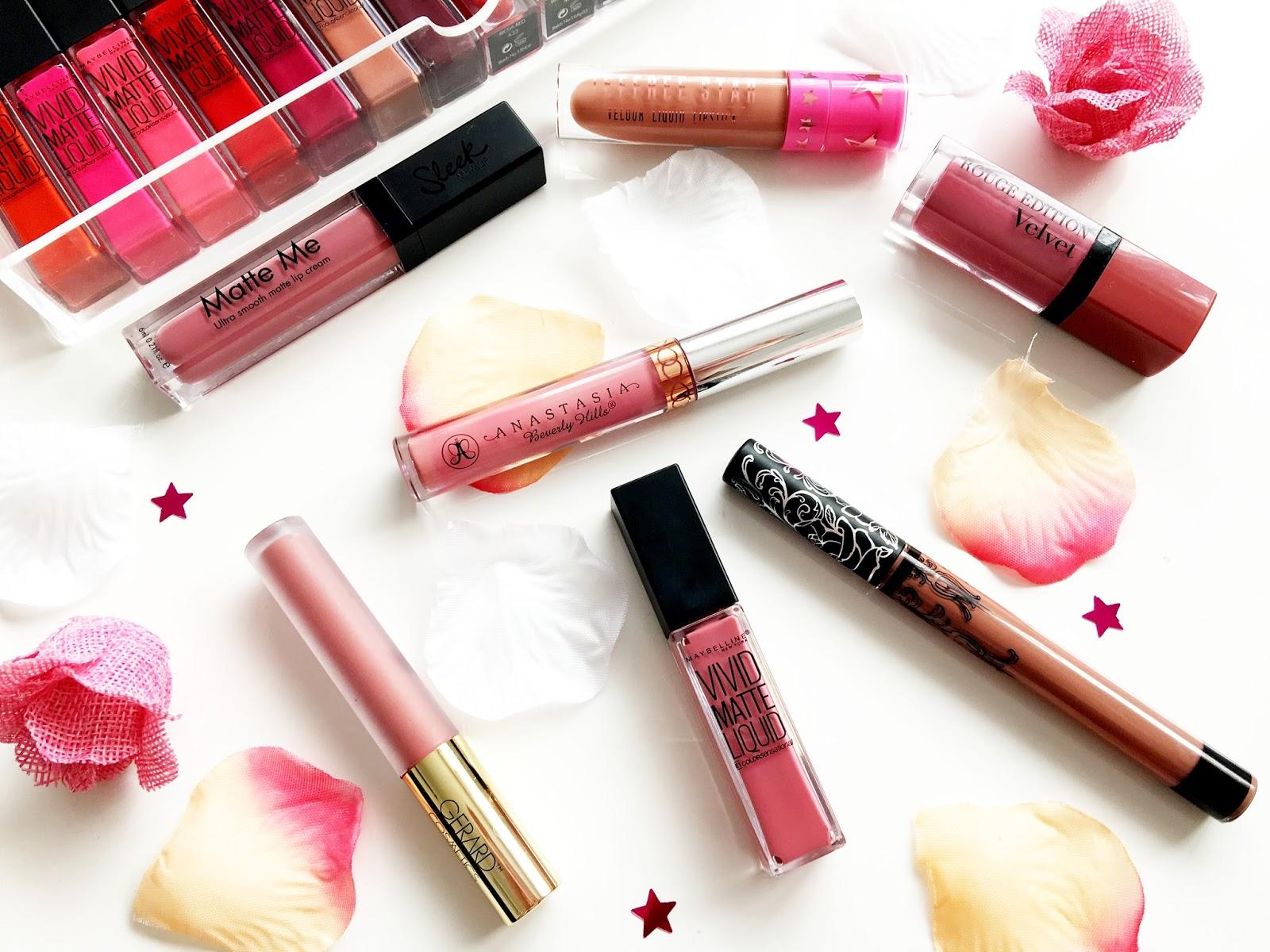 Favourite Liquid Lipsticks