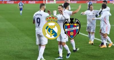 مباراة ريال مدريد وليفانتي بث مباشر