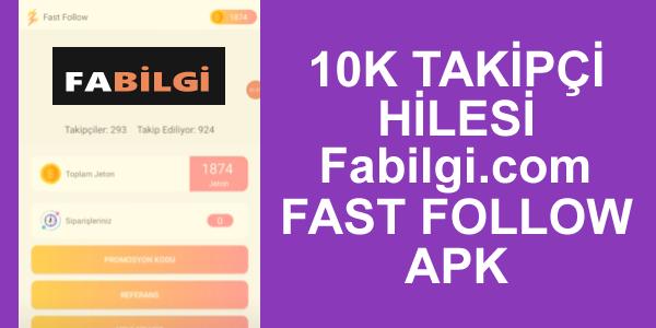 Instagram Fast Follow Apk 15k Takipçi Hile Uygulaması 2021