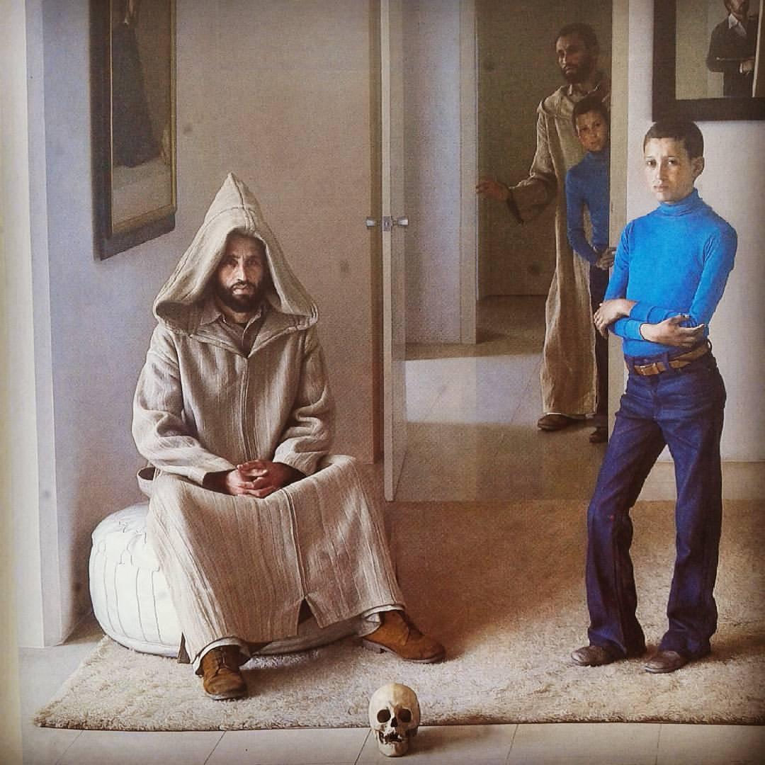 Claudio  ravo Camus The Guardian and his Son