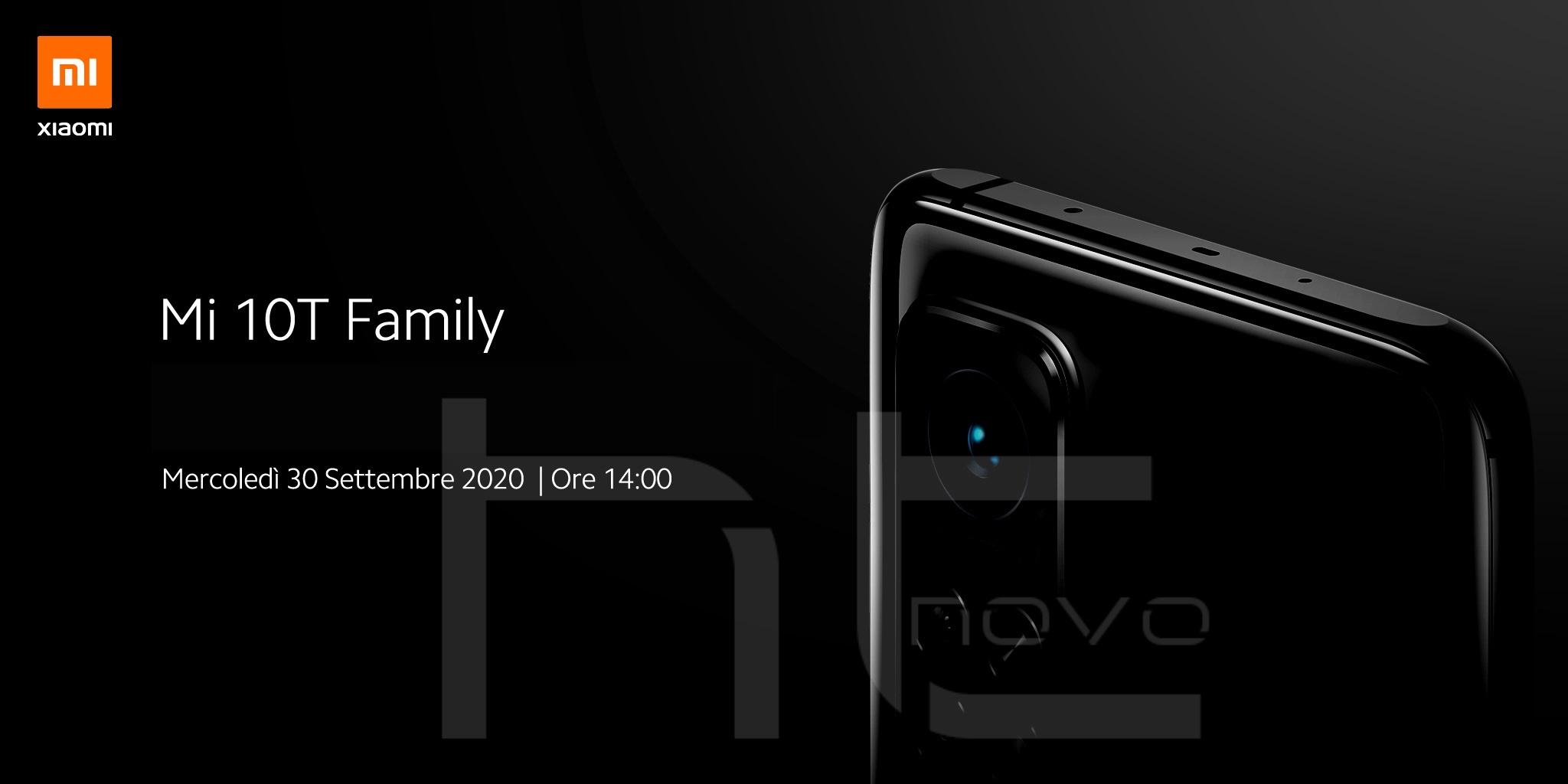 Guarda in diretta l'evento di presentazione dei nuovi Xiaomi Mi 10T