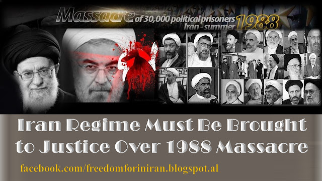 Iran Regime Must Be Brought to Justice Over 1988 Massacre