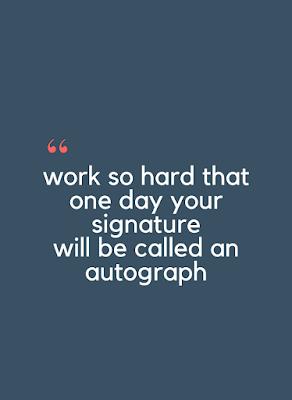Business Autograph Quotes