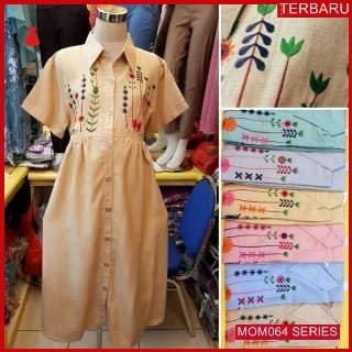 MOM064D21 Dress Hamil Menyusui Citra Kantor Dresshamil Ibu Hamil