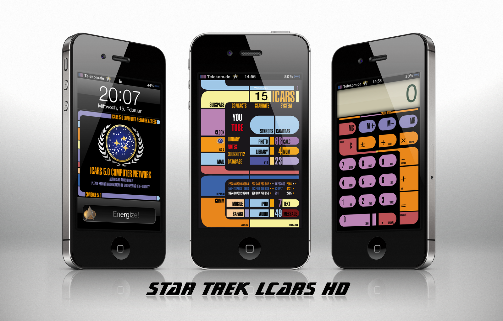 Star trek lcars wallpaper iphone x
