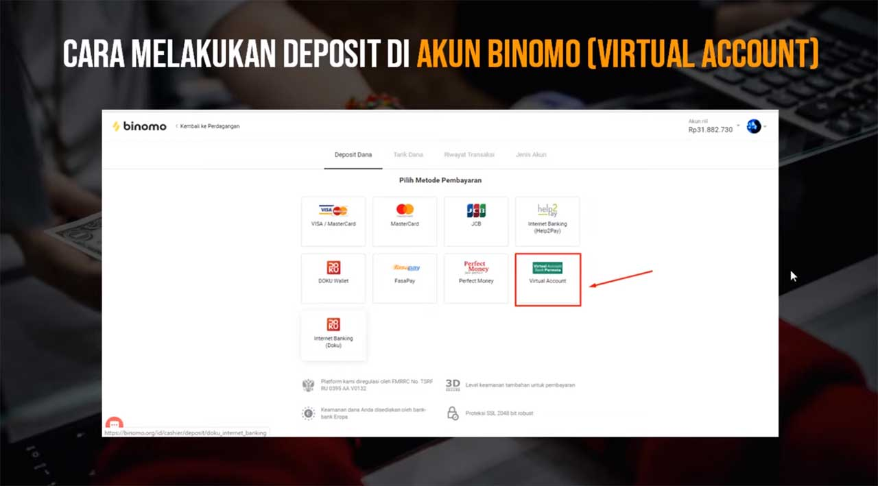 cara-deposit-di-binomo-dengan-virtual-account