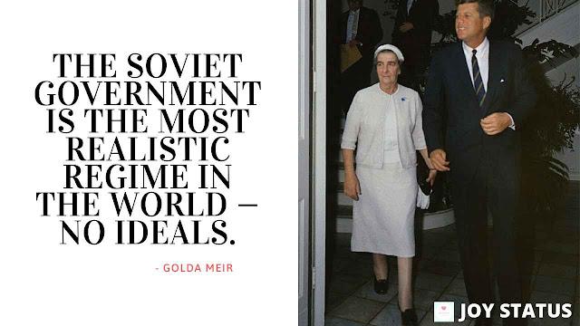 Golda Meir Quotes